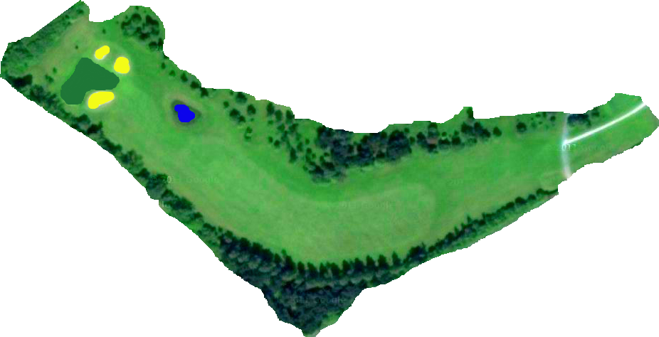 Hole 1 Layout